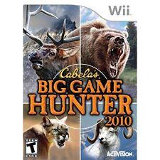Cabela's Big Spiel Hunter 2010 nur Spiel für Wii und Wii U Shooter Sehr Gut 6E
