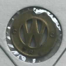 Derry Pennsylvania PA WCRC Westmoreland County Ry Co Transportation Token