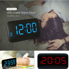 junjiada Grande LED Reloj Despertador Digital Voz control Time EXPOSITOR
