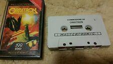 Orbitron Video Game Cassette Commodore 64 C64/C128 💜💜💜 FREE POST