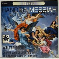 "Walter Goehr ""Handel Messiah Highlights"" LP PS 15006 Perfect Records"