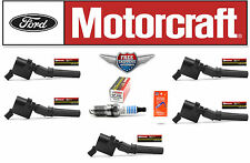 Set of 5 Motorcraft Ignition Coil DG508 FD503 + 5 Motorcraft Spark Plug SP493