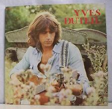 """33 tours Yves DUTEIL Disque Vinyle LP 12"""" TARENTELLE - PATHE 14.498 Frais Reduit"""