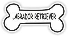 LABRADOR RETRIEVER BONE STICKER BREED NAME DOG FOOD BOWL PUPPY PET VINYL DECAL