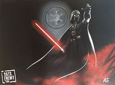 Darth Vader- Hand OIL PAINTING canvas POP ART Star Wars Lord Episode 1 2 3 4 5