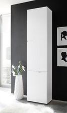 Design Schrank Spice 215cm Hochglanzfront mit Tür Regal weiß Büroschrank