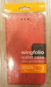 REIKO wingfolio Wallet Case Red LG V-10 Phone Case SEE PICTURES