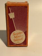 Mini * Travel * Portable * Metronome WITTER Taktell RUBY: Vintage Tested Working