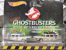 2016 Hot Wheels Classic Ghostbusters 2 pack Ecto-1 & Ecto 1-A Combine Shipping