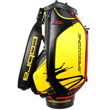 NEW Cobra Golf SpeedZone SZ Staff Tour Bag 6-Way Top - Black / Yellow