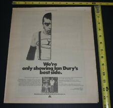 Ian Dury 1978 Album Ad New Boots and Panties!