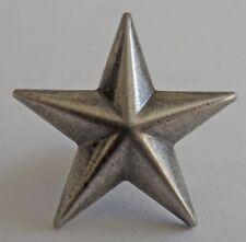 "5550-RC 3/4"" Antique Nickel Star Decorative Rivet Conchos"