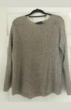 VINCE merino alpaca camel wool oversize sweater jumper top size XS UK 8,10,12,14