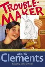Troublemaker by Andrew Clements (2013, Paperback)