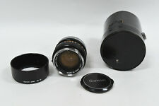 Canon 50mm f 1.4 S.S.C. FD Camera Lens - FD Mount - Chrome/Silver Nose/Tip