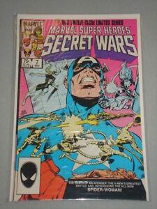 MARVEL SUPER HEROES SECRET WARS #7 1ST NEW SPIDER WOMAN NOVEMBER 1984 NM (9.4)