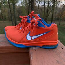 Nike Air Max Flight 11 'Russell Westbrook' Orange Blue OKC Mens Shoes Size 9