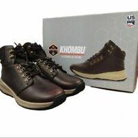 Khombu Men NICK Outdoor Boots - Brown - Choose Color & Size!