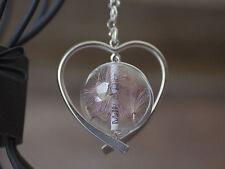 Handgefertigt Versilberte Modeschmuck-Halsketten & -Anhänger mit Herz