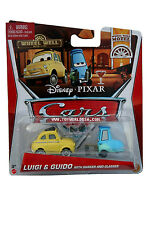 2013 Disney Cars Luigi & Guido with Shaker and Glasses #9-10/11