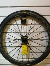 Mavic Cosmic Pro SL Carbon Deep Section Front Wheel Road Time Trial Tubeless (7)