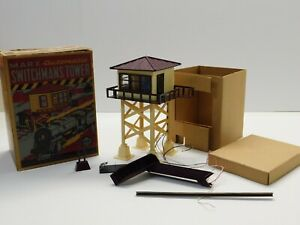 O Scale - Vintage MARX - Automatic Switchman's Tower Accessory in Original Box