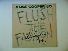 """Shock Rock"" Alice Cooper Signed Album Cover W/ Rare HOF 11 Inscription COA"