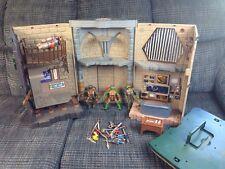 Teenage mutant ninja turtle lair - Mirage Weapons Inc 2003 Playmates toys