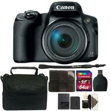 Canon Powershot SX70 HS Camera with 64GB Card and Great Value Bundle