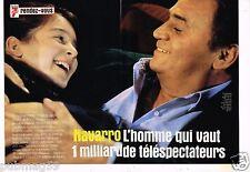 Coupure de Presse Clipping 1999 (4 pages) Navarro Roger Hanin Emmanuelle Boidron