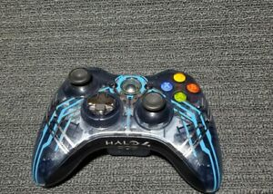 Microsoft Xbox 360 Wireless Controller Halo 4 Special Edition Model 1546 Used