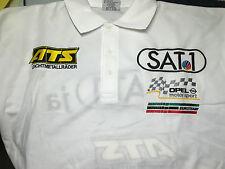 Opel Racing Motorsport Polo Shirt DTM ATS Sat1 Euroteam OPC Aramis edel  L Large