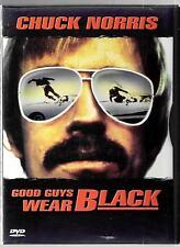 HBO Home Video, Good Guys Wear Black, 1978 Movie,  USED DVD Chuck Norris