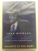 Maigret et son mort DVD NEUF SOUS BLISTER Jean Richard