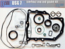 VW AUDI SKODA,Gearbox overhaul DQ200,set kit of seal and gasket 0am Dsg,OHK DSG7