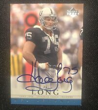 2000 UD Legends HOWIE LONG AUTO Upper Deck Autograph SP SSP