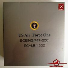 HOGAN WINGS 9437. US AIR FORCE ONE. BOEING 747-200 - Scale 1:500. DIECAST