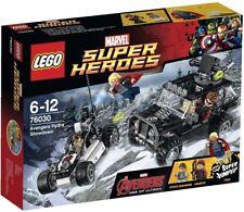 LEGO SUPER HEROES MARVEL AVENGERS HYDRA SHOWDOWN 76030 - NUEVO, SIN ABRIR