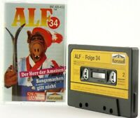 Alf Folge 34 Herr der Ameisen   Karussell Hörspiel  MC Kassette