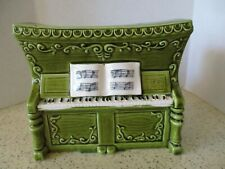 """Vintage Player Piano Planter & Music Box, """"Roll Out The Barrel"""", Relpo Import"""