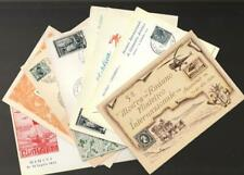 Italy Collection of 11 Stamp Shows Illustrated Postal Cards 1950-1954 VF