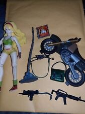 Dragon Ball 2001 Launch Figure With Accessories Guns Bag Bike DB DBZ