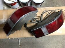geniune porsche 911 930 tail lights L R pair w/wiring harness w/Bosch lens 68-89