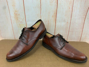 Allen Edmonds Road Warrior Shoes Mens 10.5 B Brown Dress Oxford        X75(5)