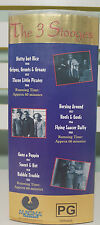 The 3 Stooges Vhs Video Columbia Studios 3 Vhs Tapes 1940S 1950S 1960S!