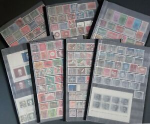 Germany (West) 1960-1969 Used Collection Complete All Issues incl. Minisheets