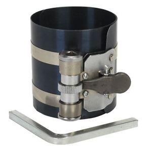 Sealey VS155 Piston Ring Compressor 75mm Ø60-125mm