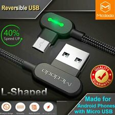 Mcdodo Elbow Heavy Duty Charging Cable Micro Usb For Android Lg Samsung Charger