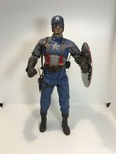 Hot Toys MMS156 Captain America The First Avenger Chris Evans 1/6 Figure Excell