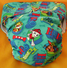Adult New Reusable Super Absorbent Cloth Diaper S,M,L,XL PP Hero Pups Rule